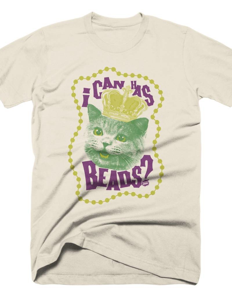 I Can Has Beads Mens Tee