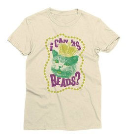 I Can Has Beads Womens Tee