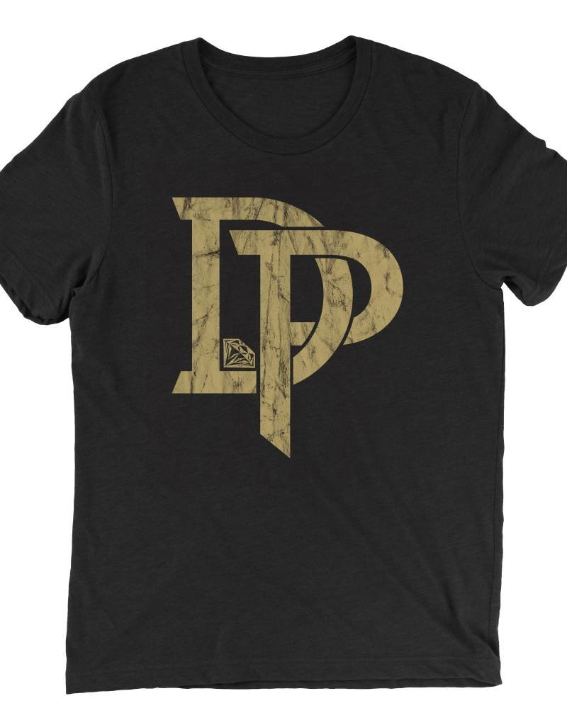 Dustin Poirier DP Gold Mens Tee