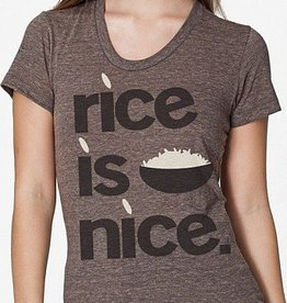 Rice is Nice Womens Tee