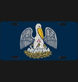 State Seal License Plate
