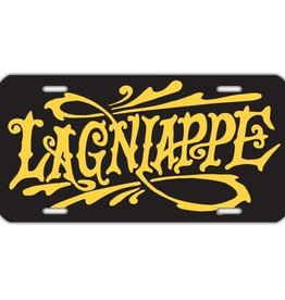 Lagniappe Black License Plate