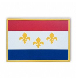 New Orleans Flag Postcard
