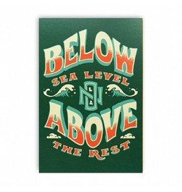 Below Sea Level Postcard