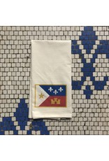 Acadian Flag Tea Towel