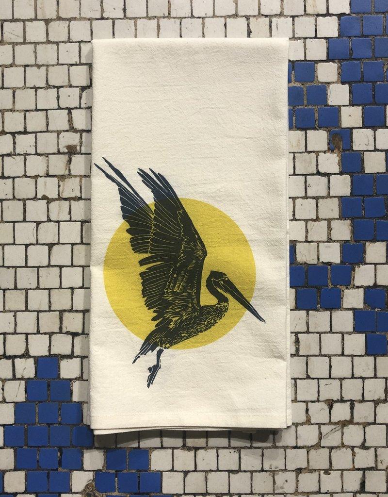 Pelican Sun Tea Towel