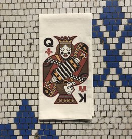 Cajun Queen Creole King Tea Towel