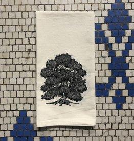 Oak Tree Tea Towel