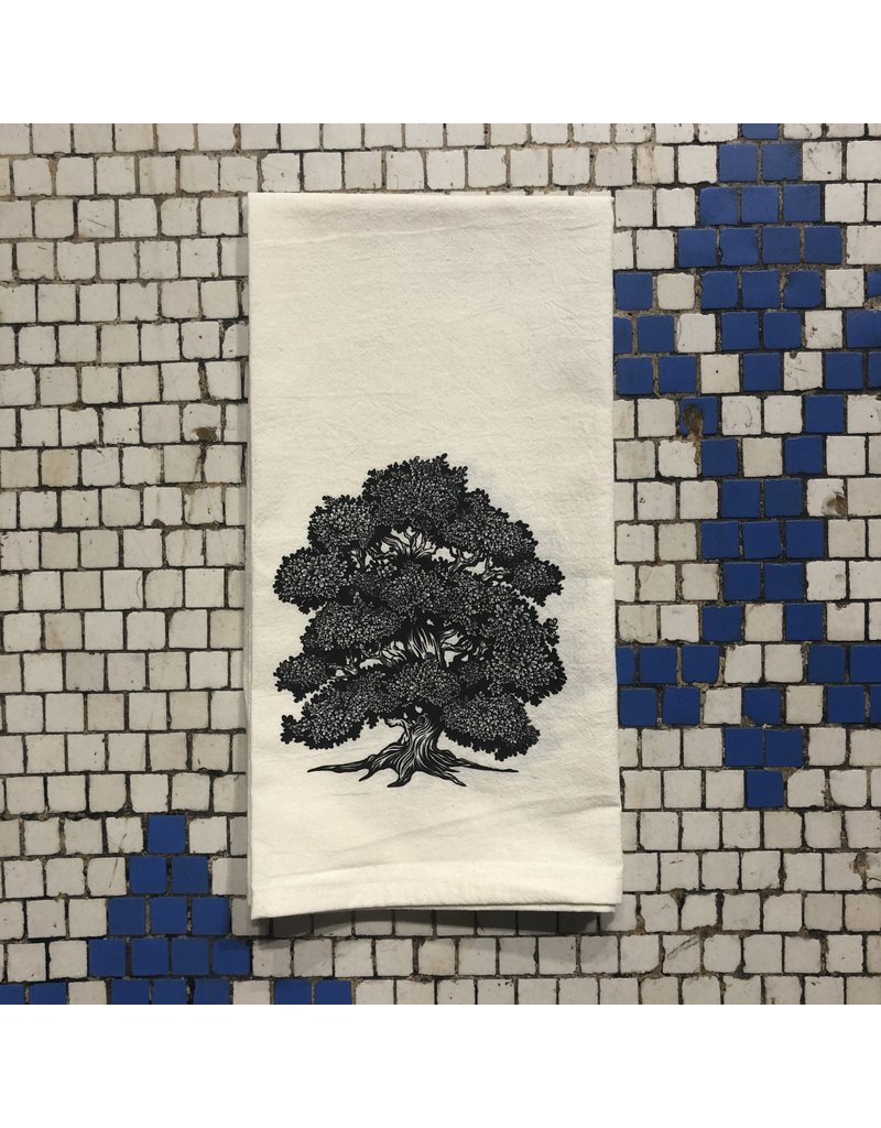 Oak Tree Tea Towel