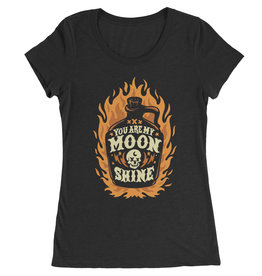 You Are My Moonshine Womens Tee