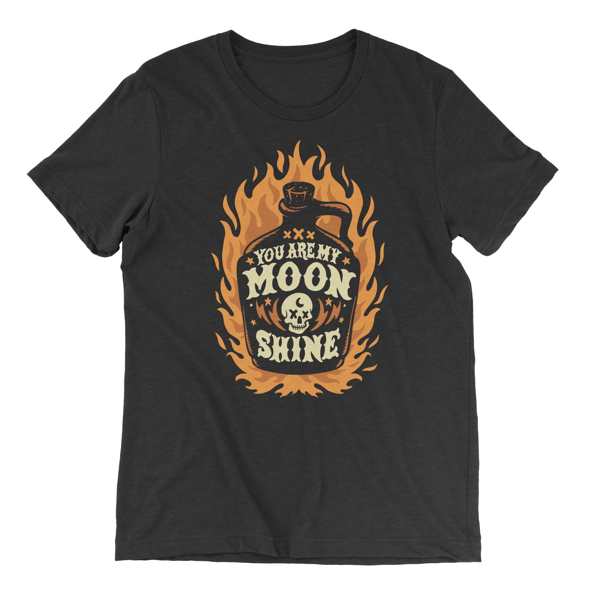 Retro You Are My Moonshine Mens Tee