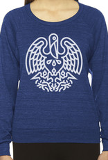 State Seal Icon Womens Raglan Pullover