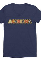 Acadiana Sticker Womens Tee