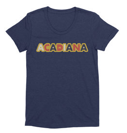 Acadiana Sticker Womens Tee