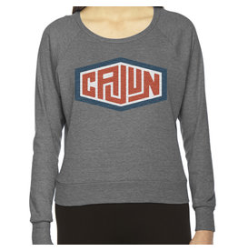 Cajun Logo Womens Raglan Pullover