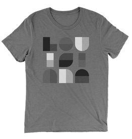 Louisiana Geometric Mens Tee