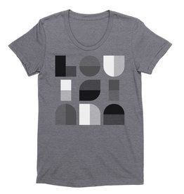 Louisiana Geometric Womens Tee