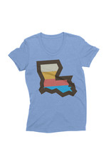 LA Stripes Womens Tee
