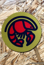 Crawfish Icon Coaster