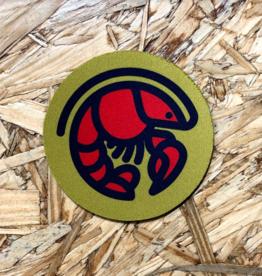 Crawfish Icon Coaster