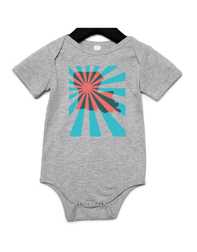 2019 Louisiana Power Baby Onesie
