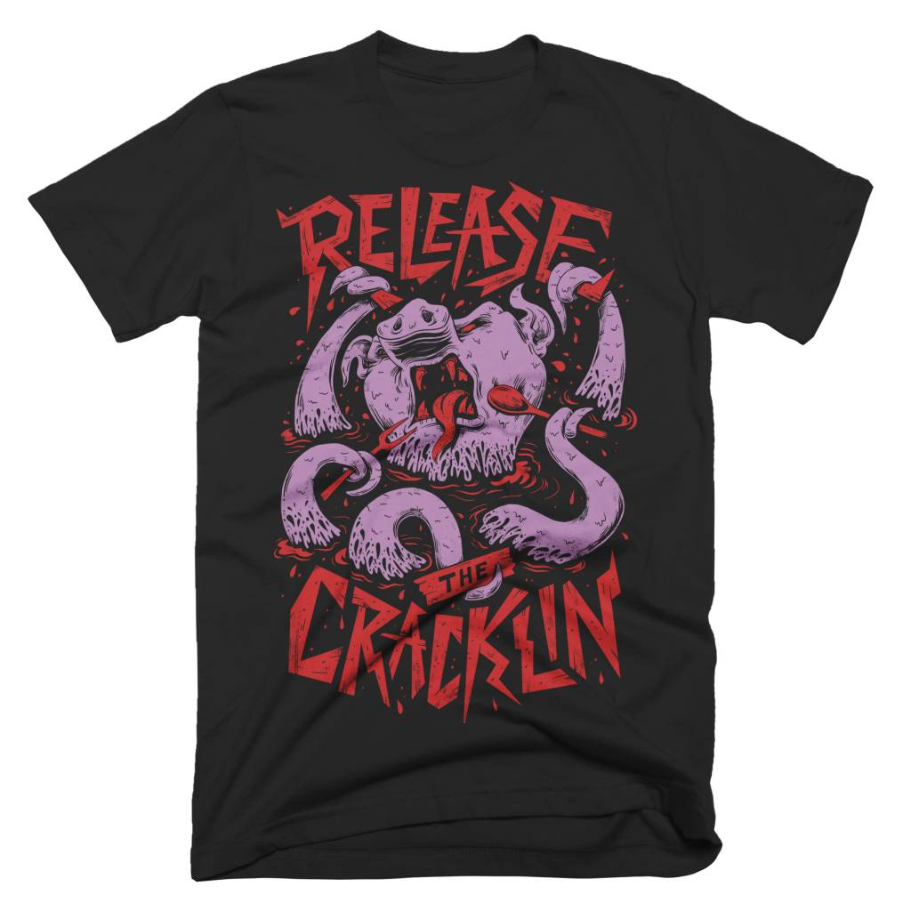 Release the Cracklin Mens Tee