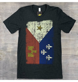 Acadian Flag Mens Tee