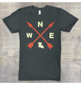 Louisiana Compass Mens Tee
