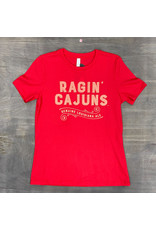 Ragin Cajuns Ale Womens Relaxed Fit Tee