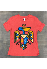 Pelican Crest Womens Relaxed Fit Tee