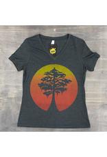 Cypress Rising Womens V-neck Tee