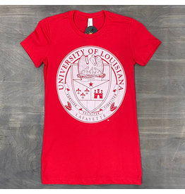 Ragin Cajuns Seal Womens Tee