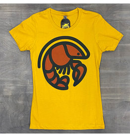 Crawfish Icon Womens Tee