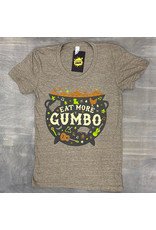 Eat More Gumbo Womens Tee