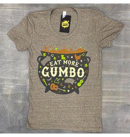 Eat More Gumbo Womens Tee