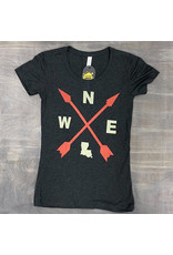 Louisiana Compass Womens Tee