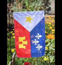Acadian Flag 12x18 Garden Flag