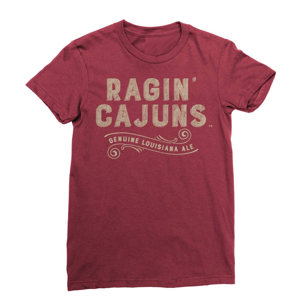 Ragin Cajuns Ale Womens Tee