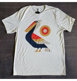 Perched Pelican Mens Tee