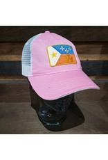Acadian Flag Unstructured Trucker Hat