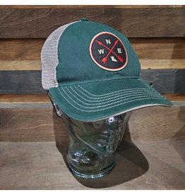 Louisiana Compass Unstructured Trucker Hat