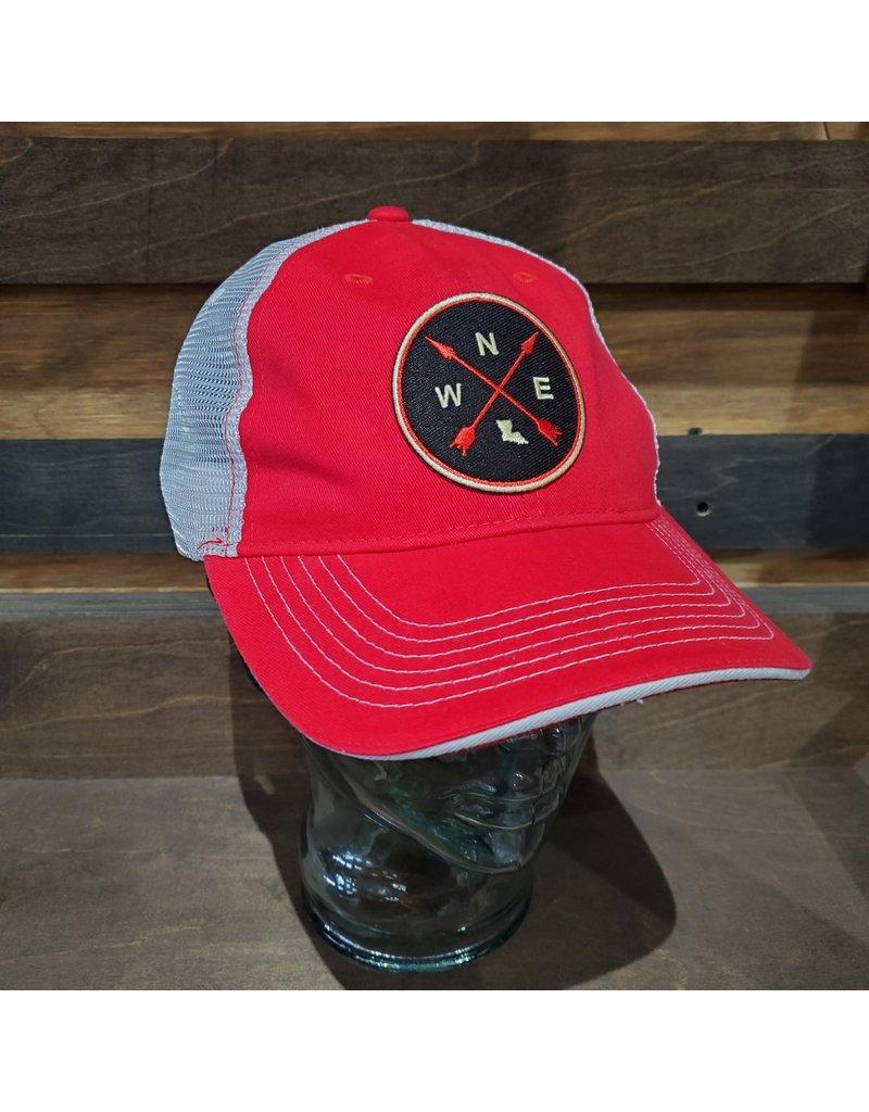 Louisiana Compass Unstructured Trucker Hat