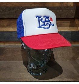 LA Logo Hat Red & Blue