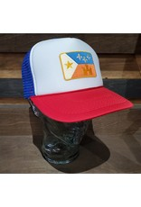 Retro Acadian Flag Trucker Hat