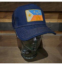Retro Acadian Flag Trucker Hat