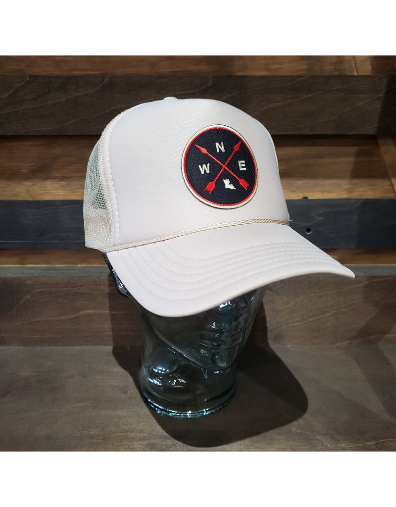 Louisiana Compass Trucker Hat