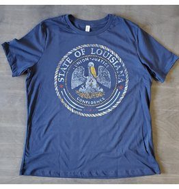 State Seal Womens Relaxed Fit Tee