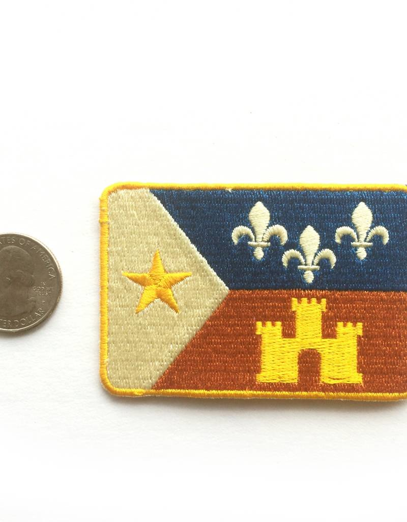 Retro Acadian Flag Patch
