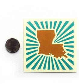 Louisiana Power Sticker