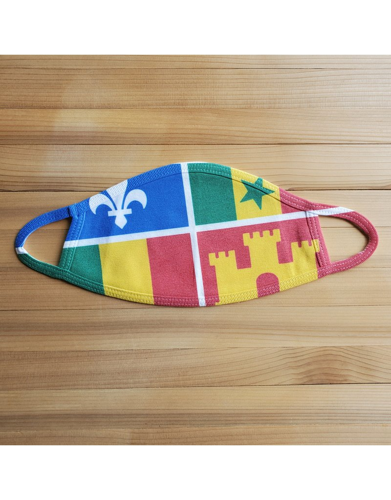 Cotton Face Mask - Creole Flag